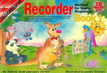 Progressive Recorder Method for the Young Beginner Book 1