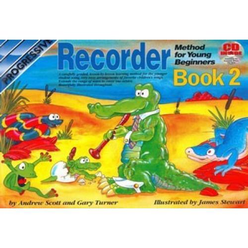 Progressive Recorder Method for the Young Beginner Book 2