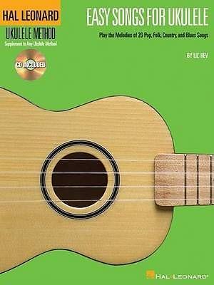 Hal Leonard Easy Songs For Ukulele Book & CD