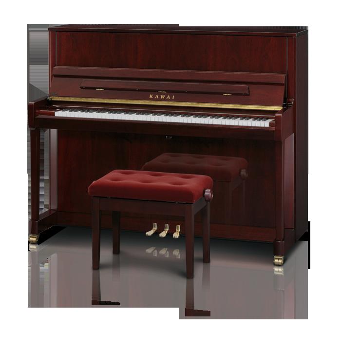 Kawai K300 Upright Piano Mahogany Polish