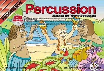 Progressive Percussion Method for Young Beginner