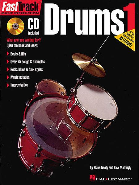 Hal Leonard Fast Track Drums Book 1