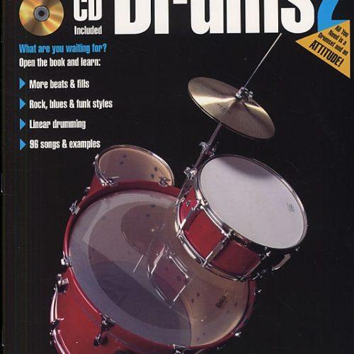 Hal Leonard Fast Track Drums Book 2