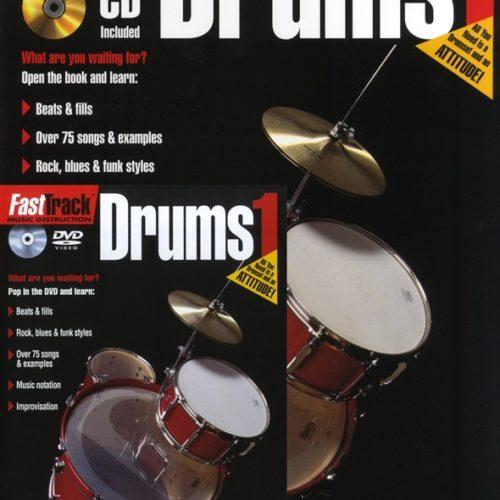 Hal Leonard Fast Track Drum Starter Pack