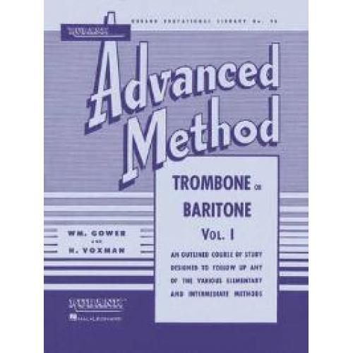 Rubank Advanced Method Trombone & Baritone V1