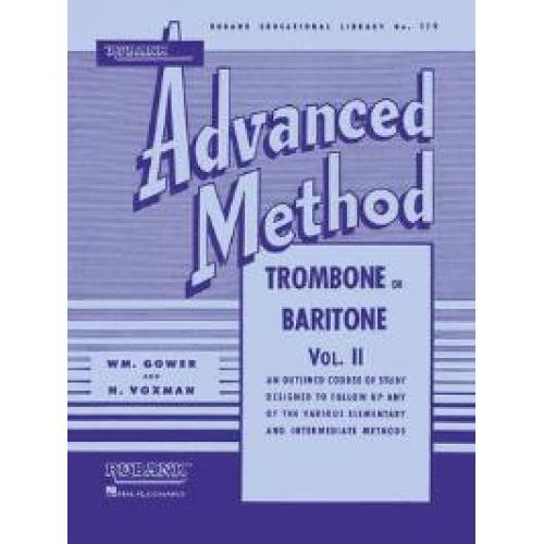 Rubank Advanced Method Trombone or Baritone V2