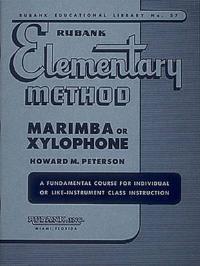 Rubank Elementary Method Marimba or Xylophone
