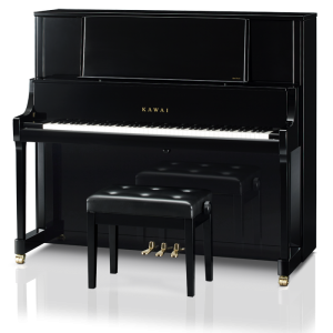 Kawai K800 Upright Piano Ebony Polish