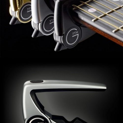 G7th G7P2 Performance 2 Capo Silver
