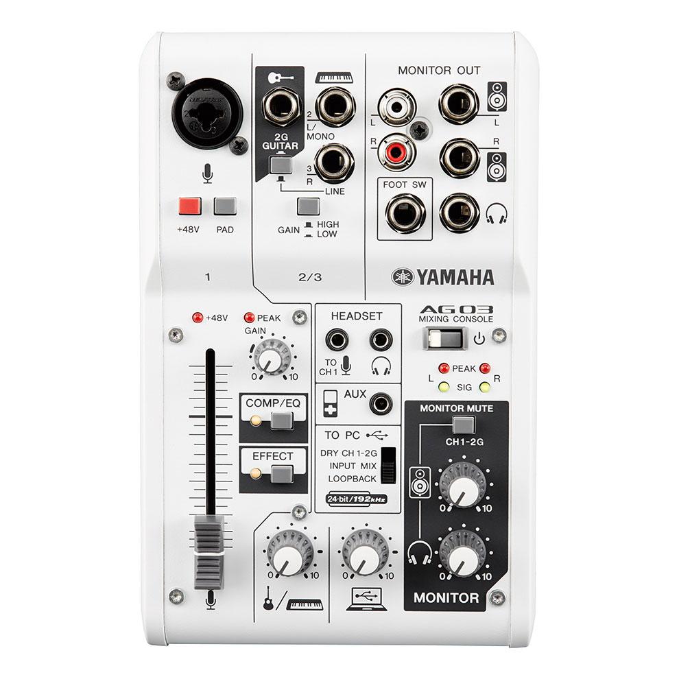 Yamaha AG03 Mixer/Audio Interface