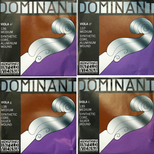 "Dominant Viola String Set 15''-15.5"""