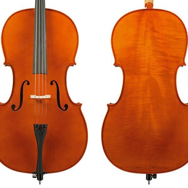 Gliga III Cello Outfit-Nitro Antique Finish 1/8