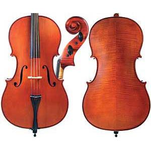 Gliga II Cello Outfit-Dark Antique 3/4