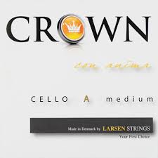 Crown 2nd D Cello String
