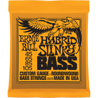Ernie Ball Hybrid Slinky Nickel Wound Bass String Set