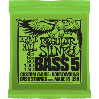 Ernie Ball Regular Slinky Nickel Wound 5-String Bass String Set