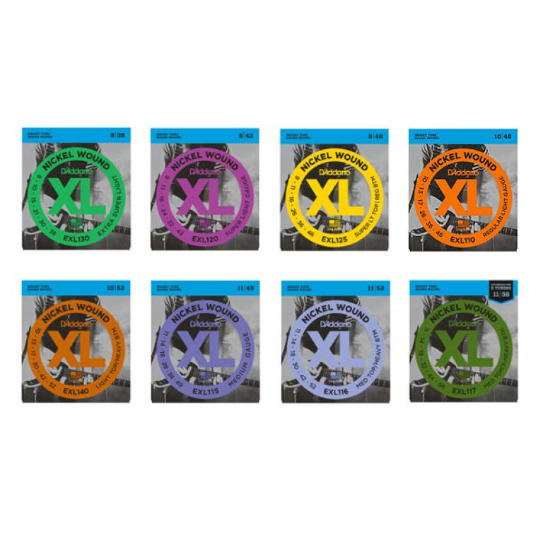 D'Addario EXL Electric Guitar String Set