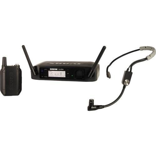 Shure GLXD14/SM35 Wireless Dig Headworn System: 2.4GHz