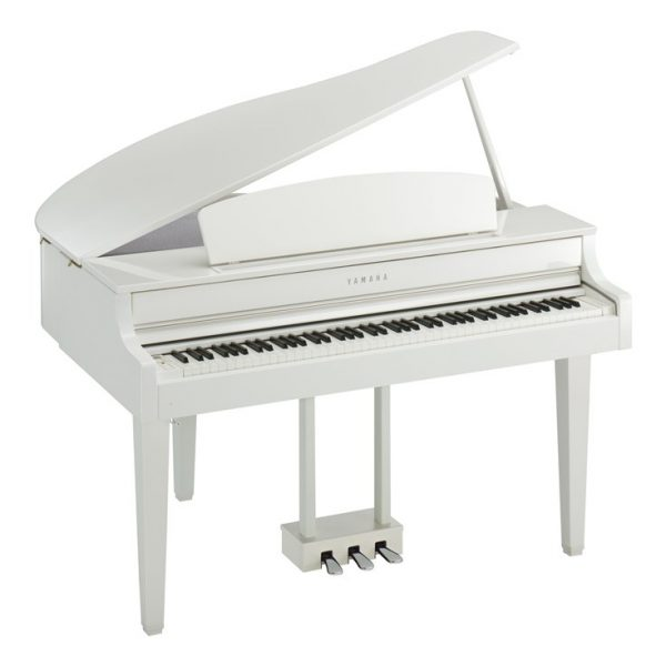 Yamaha CLP665GP Digital Grand Clavinova Polished White