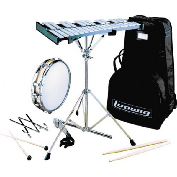 Ludwig Percussion Pack including Snare Drum With Rolling Bag