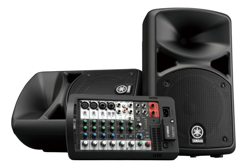 YAMAHA STAGEPAS 400BT PORTABLE PA SYSTEM W/BLUETOOTH