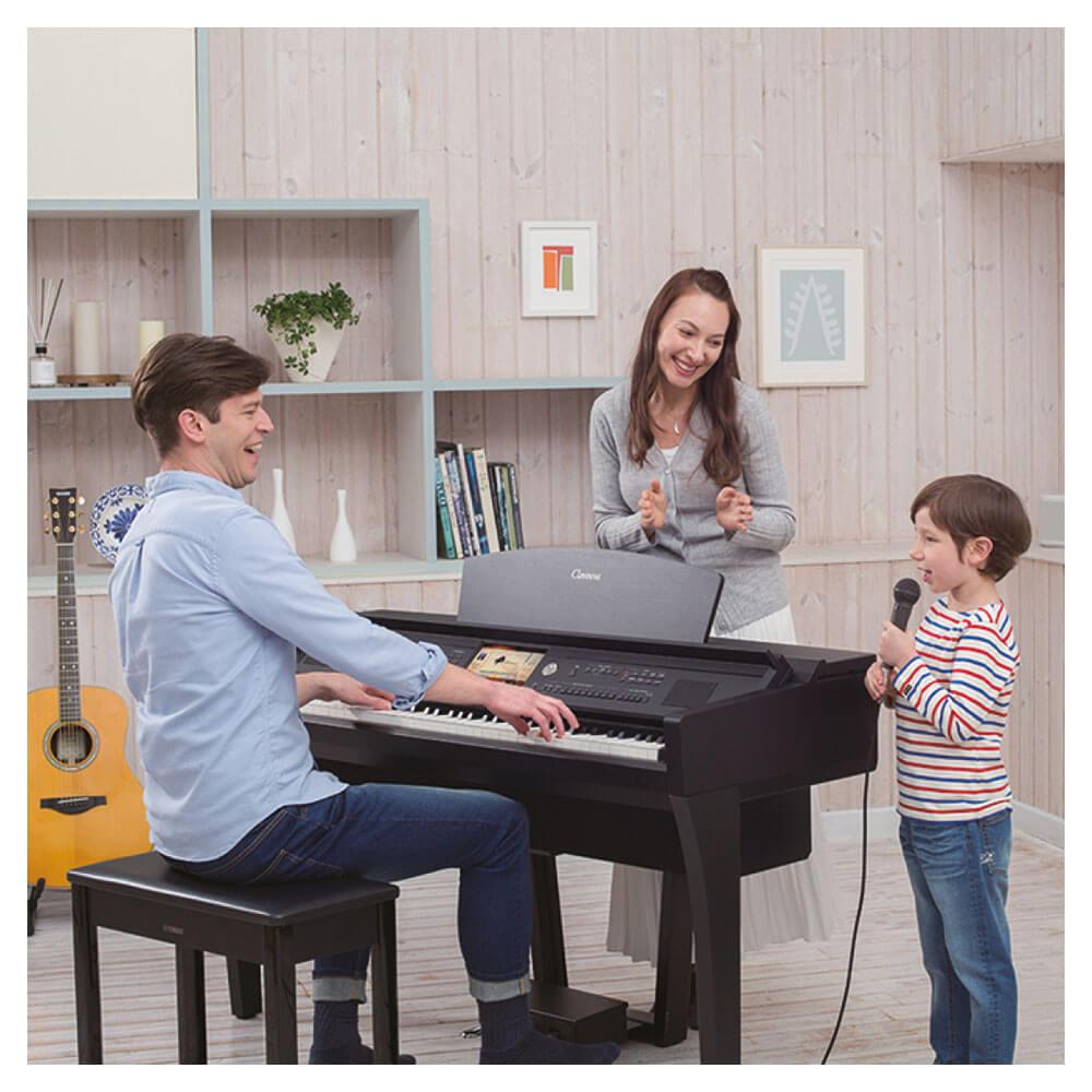 Yamaha CVP701B Clavinova Digital Piano - Black - Vivace Music Store  Brisbane, Queensland's Largest Music Store