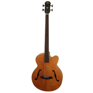 Aria ARFEBFLF Acoustic Electric Bass Guitar